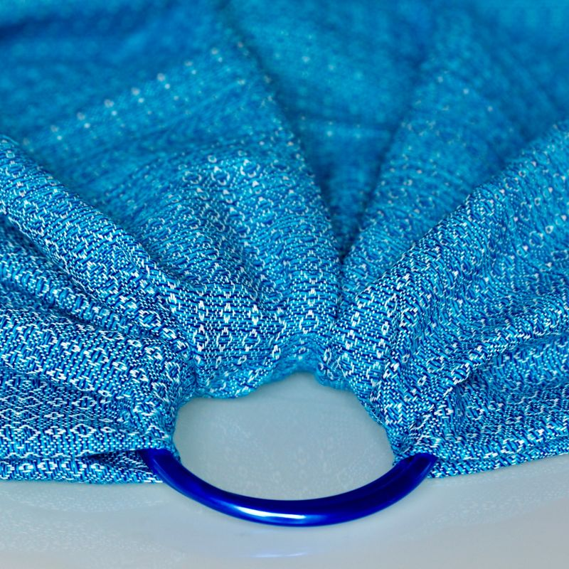 blue cotton ring sling